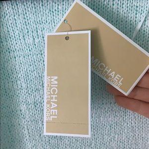 MICHAEL Michael Kors Sweaters - MICHAEL KORS white long front fringe cardigan NWT